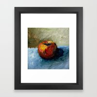 Apple Still Life Framed Art Print