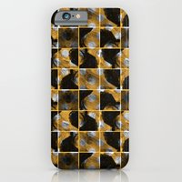 scribble (yellow) iPhone 6 Slim Case