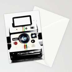 Shake it like a Polaroid picture Stationery Cards