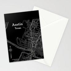 Vintage Austin Negative Stationery Cards