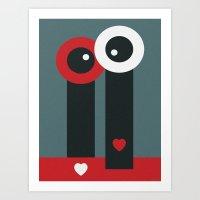 LOVESCAPE Art Print