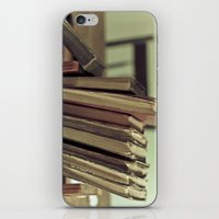 Retro Books iPhone & iPod Skin