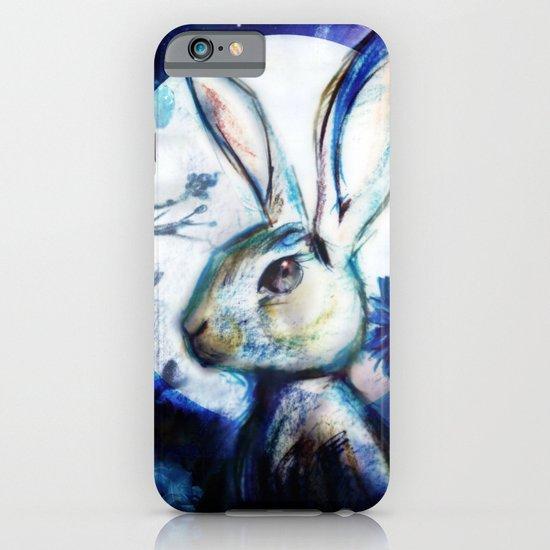 Moonlight Rabbit iPhone & iPod Case