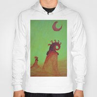 Plants And Moon Hoody