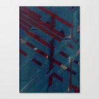 Against The Grain, I Sha… Canvas Print