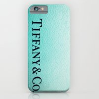 iPhone & iPod Case featuring Tiff Any by Christine Leanne