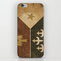 Acadian Flag iPhone & iPod Skin