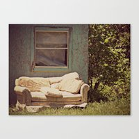 The Window Seat Canvas Print
