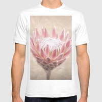 Pretty in Pink Mens Fitted Tee White SMALL