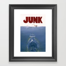 JUNK Framed Art Print