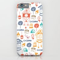 iPhone & iPod Case featuring Cuckoo Pattern by Leanne Oughton