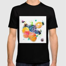 Cosmic Mango Mens Fitted Tee SMALL Black