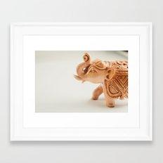 The Hindu elephant Framed Art Print
