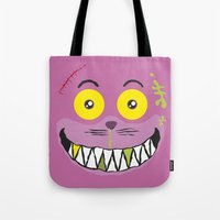 Smilezz / Cheshire Cat Tote Bag