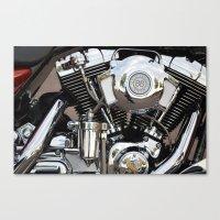 Harley  Canvas Print