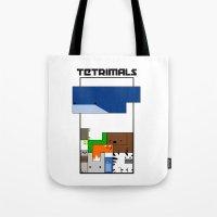 Tetrimals Tote Bag