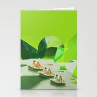 Row Your Boat Stationery Cards