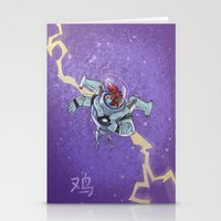 Astro Zodiac Force 10:  Rooster Stationery Cards
