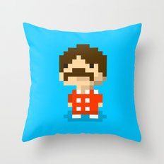 The Bitles - George Throw Pillow