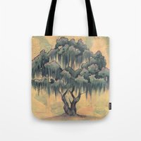 Crepe Myrtle Tree in Bloom Tote Bag