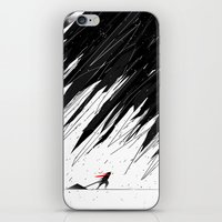 Geometric Storm iPhone & iPod Skin