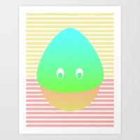 momochi Art Print