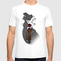 Consulting Detective Dar… Mens Fitted Tee White SMALL