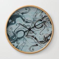 Even .. More .. TentacleS ..  Wall Clock