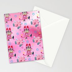 Arale Cat's pattern Stationery Cards
