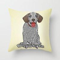 Dog Style Throw Pillow