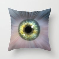 Eye Cosmic Throw Pillow