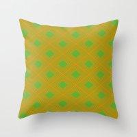 Rando Color 9 Throw Pillow