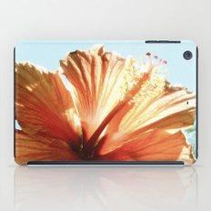 Coral Hibiscus iPad Case
