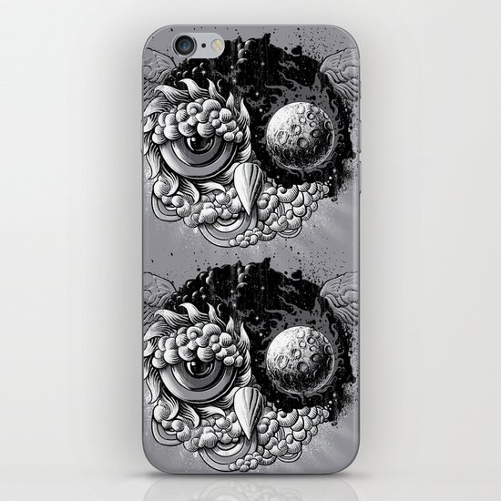 Owl Day & Owl Night iPhone & iPod Skin