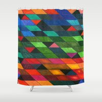 Pattern #1 Tiles Shower Curtain