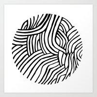 Circle Series #3 Art Print