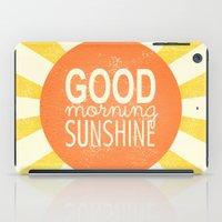 Morning Sunshine iPad Case