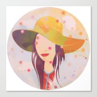 Picture Disc Canvas Print