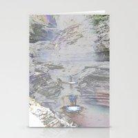 Chromascape 9 (Watkins Glen) Stationery Cards