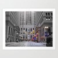 Chicago Board Of Trade Art Print
