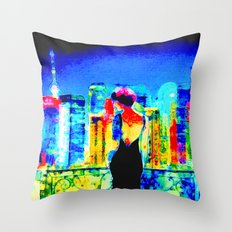 Let's Set The World On F… Throw Pillow