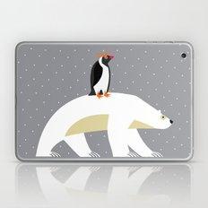 The Polar Bear and The Penguin Laptop & iPad Skin