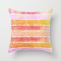 Leaves From Paradise Throw Pillow