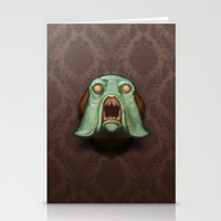 Swamp Alien Stationery Cards