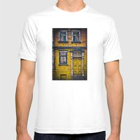 The Yellow House Mens Fitted Tee White SMALL