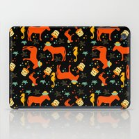 donkey at the seaside all over print iPad Case