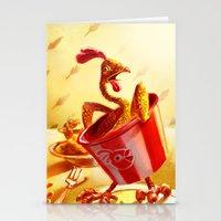 Bucket of Chicken Stationery Cards