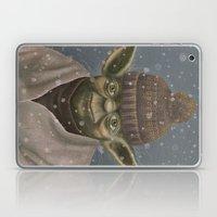 Christmas Yoda Laptop & iPad Skin