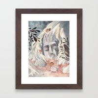 chaneque Framed Art Print