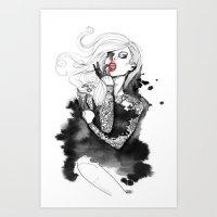WMNART Art Print